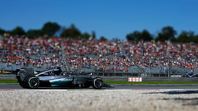 Mercedes lock out front row in tame Monza qualifying