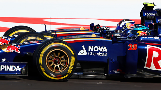 Toro Rosso's poor fuel consumption then took effect