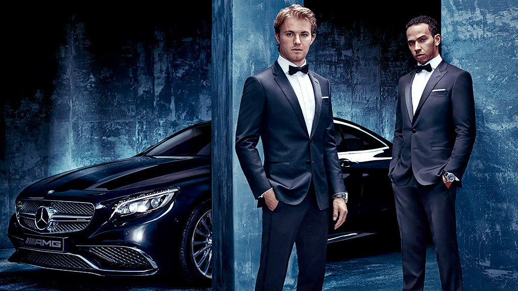 Mercedes launch partnership with Hugo Boss