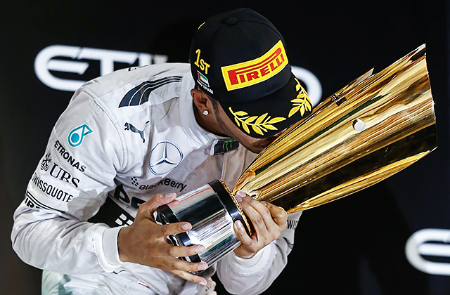 Victory in Abu Dhabi secures 2014 title