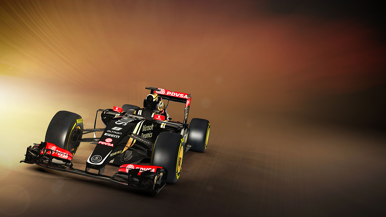 Lotus Comfortable With Budget As 2015 Livery Launched