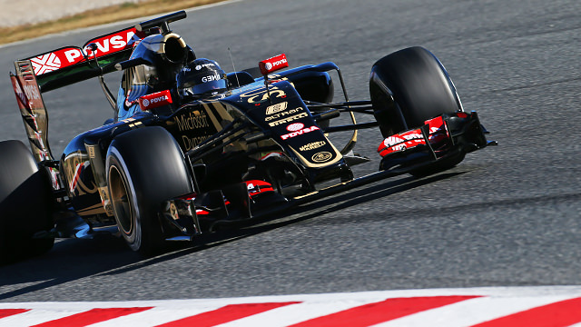 Grosjean brings testing to a close at the top of the timesheet