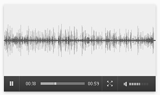 F1Minute audio player in Firefox