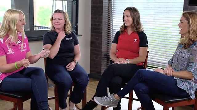 Foudy catches up with the women of Indy