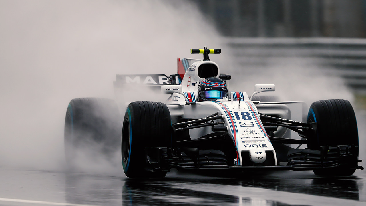 Hamilton On Pole As Stroll Impresses In Washed Out Monza