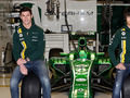 The team bring on board two reserve drivers for the 2013 season