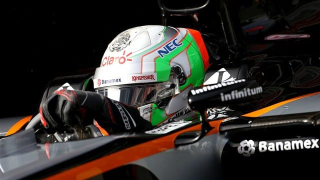 Celis gets a chance behind the Force India wheel
