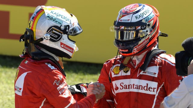 Sebastian Vettel scoops Hungarian pole position in Ferrari 1-2
