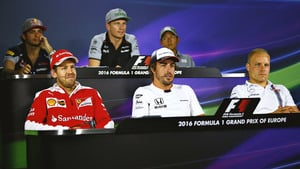 The press conference gets competitive in Baku