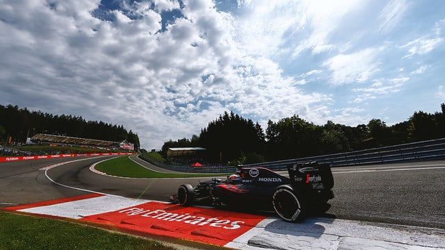Stopping on his out lap at the top of Eau Rouge was still far from ideal preparation