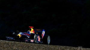 Webber gets testing with his broken leg