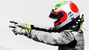 Rubens Barrichello wins the European Grand Prix