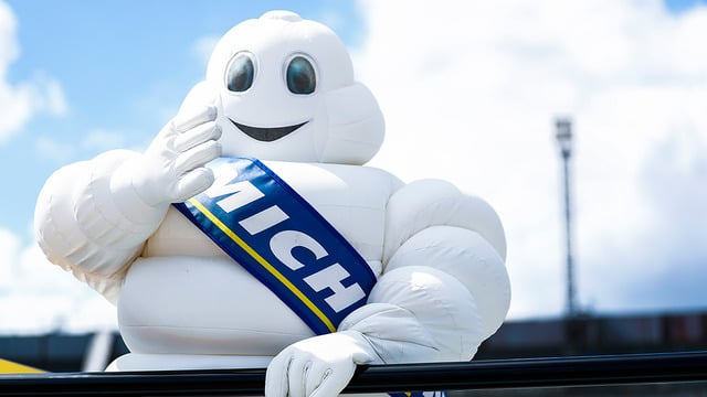 The Michelin Man at Formula E