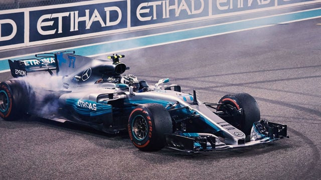 Mercedes finish season with 1-2 as Bottas takes victory