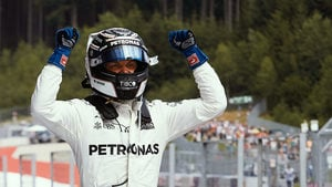 Bottas takes second race victory holding off Vettel for the win