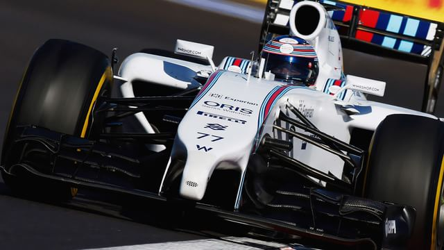 Bottas challenges for Russia pole, as Massa drops out early