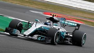 Bottas ends Friday on top of the timesheets