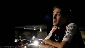 Bruno Senna settles in at Williams for the 2012 season