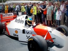 Sidepodcast: Bruno Senna takes fans with him down Goodwood Hill
