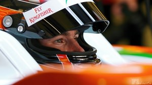 JR Hildebrand participates in the young driver test in Jerez