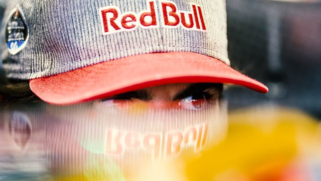 Sainz's hopes were dashed with five laps to go
