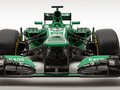 Caterham's 2013 car was unveiled by drivers Pic and Van der Garde