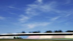 Caterham experienced all the problems in free practice two