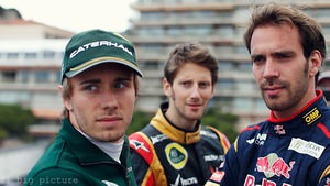 Jean-Éric Vergne is the sole French driver to finish in Monaco