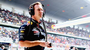 Horner stands his ground in the pitlane