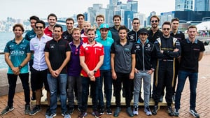 The Formula E class of 2017/18