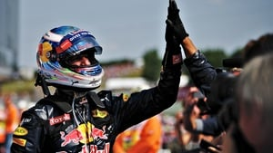 Ricciardo's efforts finally rewarded