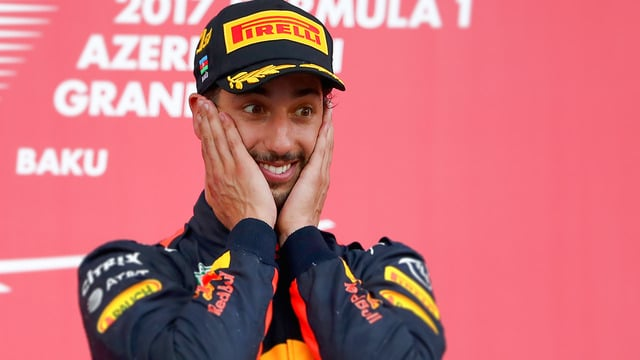 Daniel Ricciardo, Red Bull Racing: Started 10th, Finished 1st