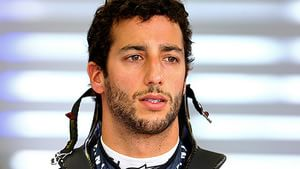 Ricciardo session came to an early end on Friday