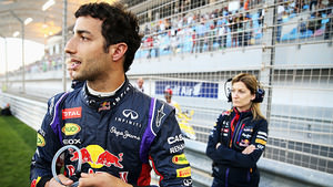 Ricciardo readies himself for some points