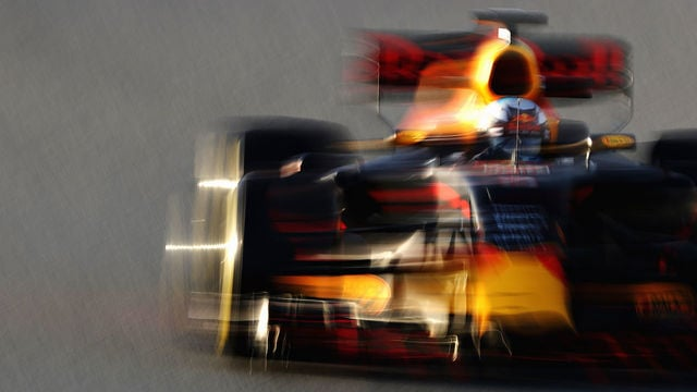 A quiet day for Red Bull Racing