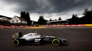 Under dark skies in Spa