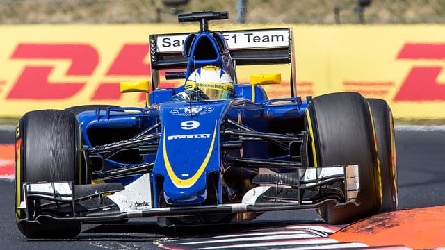Sauber gambled when the Safety Car came out