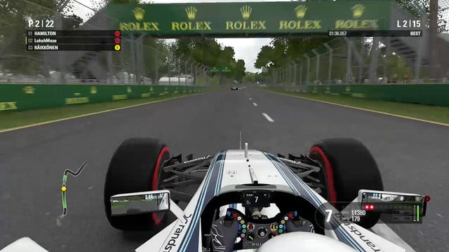 F1 2016 - Play as a Williams driver in a ten year career