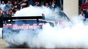 Red Bull take motorsport to Cardiff Bay in F1, NASCAR and karting demo