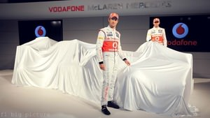 McLaren launch the MP4-27 in Woking