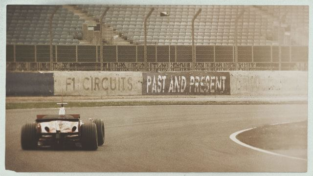 F1 Circuits Past and Present - Monza