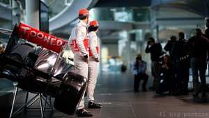 The McLaren boys launch the MP4-28 for the 2013 season