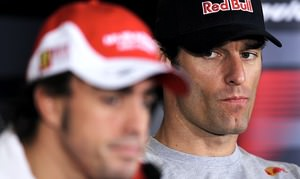 Webber eyes the competition