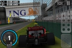 Sidepodcast: F1 2009 available on the iPhone and iPod Touch