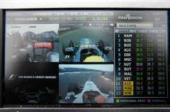 Sidepodcast: Hands on with Fanvision's portable F1 interface (Part 1)