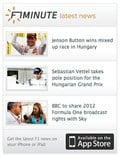 Getting motorsport news to you even faster