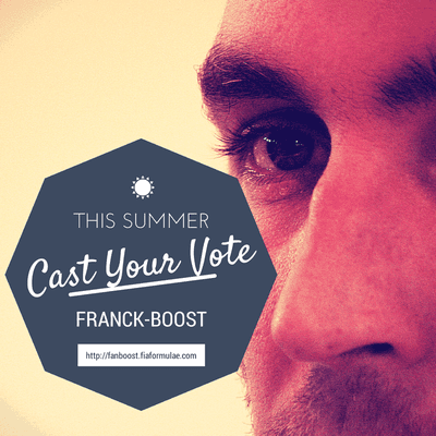 FanBoost - Vote for Franck