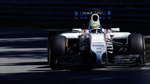 Massa was fast when he kept it on track