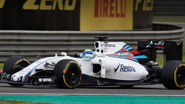 Massa suffers double tyre failure during China Friday practice