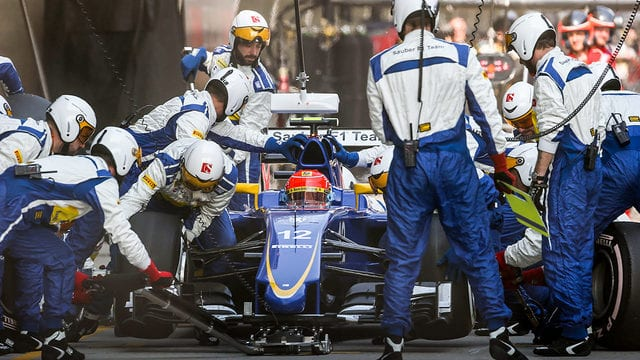 Don't look now but Nasr sits seventh in the championship